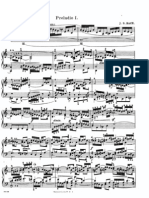 1 Preludio & Fuga - Bach