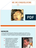 Sindrome de Coqueluche
