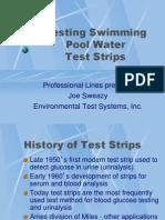 Aquachek the history of test strips