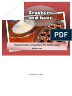 Helping Children Understand the Lords Supper