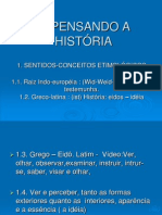 7ª AULA -  PENSANDO A HISTÓRIA