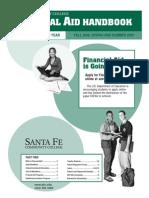 Santa Fe College Financial Aid Handbook 2008-09