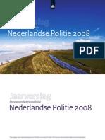 Politie jaarverslag 2008