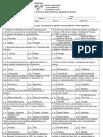 Examen Semestral Historia y Geografía de Sinaloa Enero (2012 - 2013)