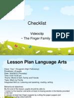 Week 2 Checklist english