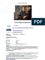 Anas Alghazawi Update Cv Ex. Arabic Development Chef Bahrain