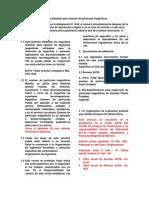 Práctica estándar para examen de partículas magnéticas