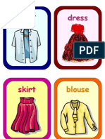 Flashcards - Clothes 2