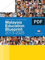 Malaysia's Preliminary Education Blueprint 2013-2025 - Executive Summary