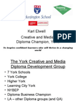 The York Creative and Media Diploma Development Group
