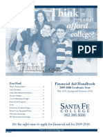 Santa Fe College Financial Aid Handbook 2009-10