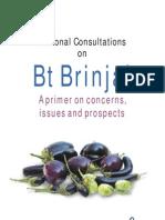 Bt Brinjal Case study