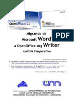 De Word a OpenOffice