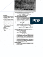 Quadratic Equations 043