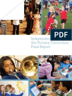 Primary Curriculum Report