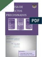 Productos Precocinados y Procesados
