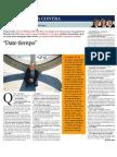 Josep esquirol Entrevista a La Contra