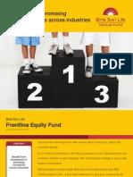 311211 Wealth Creation Sol BSL Frontline Eq Fund