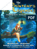 Dossier Presse Printemps Legendes2009