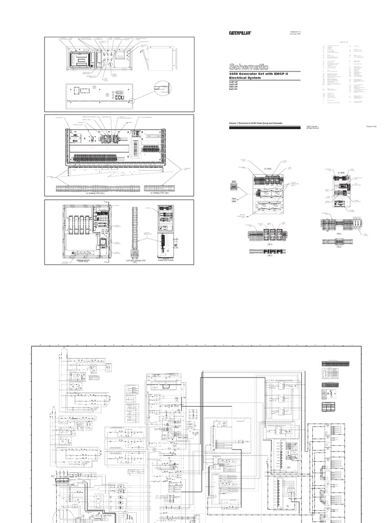 cat 3516 12 lead generator wiring diagram electrical circuitelectrical schematic with emcp ii relay electrical connector on electrical circuit diagrams,