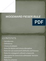 Woodward Fieser Rule