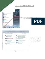 Creare Conexiune Pppoe in Windows 7