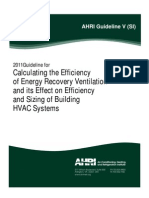 AHRI Guideline v - (SI)-2011