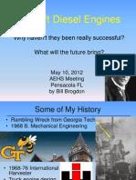 AEHS Presentation 2012 05 08