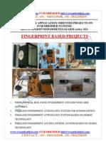 Latest_ Innovative_svsembedded_fingerprint_ Based Projects List- 2013