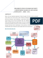 Design and Implementation of Home Security Syst