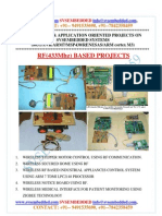 Latest Innovative Svsembedded Rf 433mhz Based Projects List- 2013