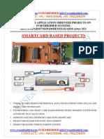 Latest_ Innovative_svsembedded_smartcard_ Based Projects List- 2013