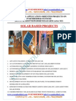 Latest_ Innovative_svsembedded_solar_ Based Projects List- 2013