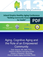 aging cognitive aging and the empowered community