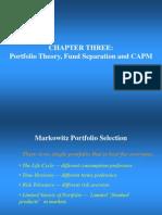 Markowitz Portfolio Selection