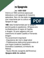 Letteratura Spagnola 1