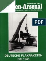 97970336 S067 Waffen Arsenal Sonderband Deutsche Flakraketen Bis 1945
