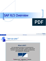 SAP R3 Overview