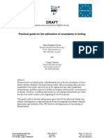 0341-ID-A Practical Guide for the Estimation of Uncertainty in Testing