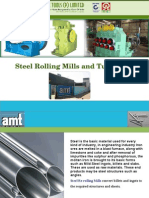 Steel Rolling Mills and Tube Mills