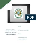 PRODUCCIÓN DE POLIHIDROXIBUTIRATO