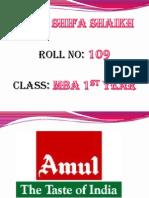 Amul company presentation