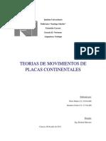 Teorias de Movimiento Geologicos