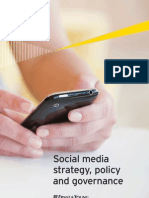 Social Media Strategy Policy Governance