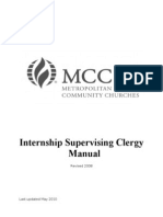 Supervising Clergy Manual