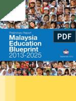 Malaysia Education Blueprint 2013-2025