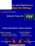 Poole_Antibiotics and Resistance in Otology