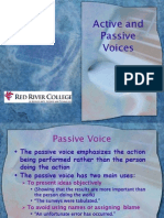Active Passive Voices