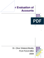 Accounting - Further Ratios