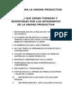 8. Reglas Para La Unidad Productiva